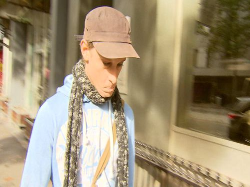 Timothy Ruge represented himself in Melbourne Magistrates Court today. (9NEWS)
