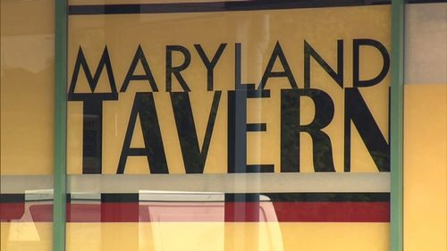 The group threatened a 29-year-old staff member and patrons and demanded cash at the Maryland Tavern. (9NEWS)
