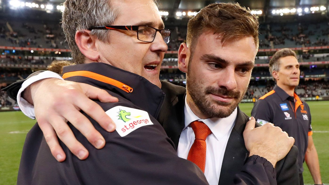 Stephen Coniglio eyeing Grand Final for GWS, having been sidelined since round 17