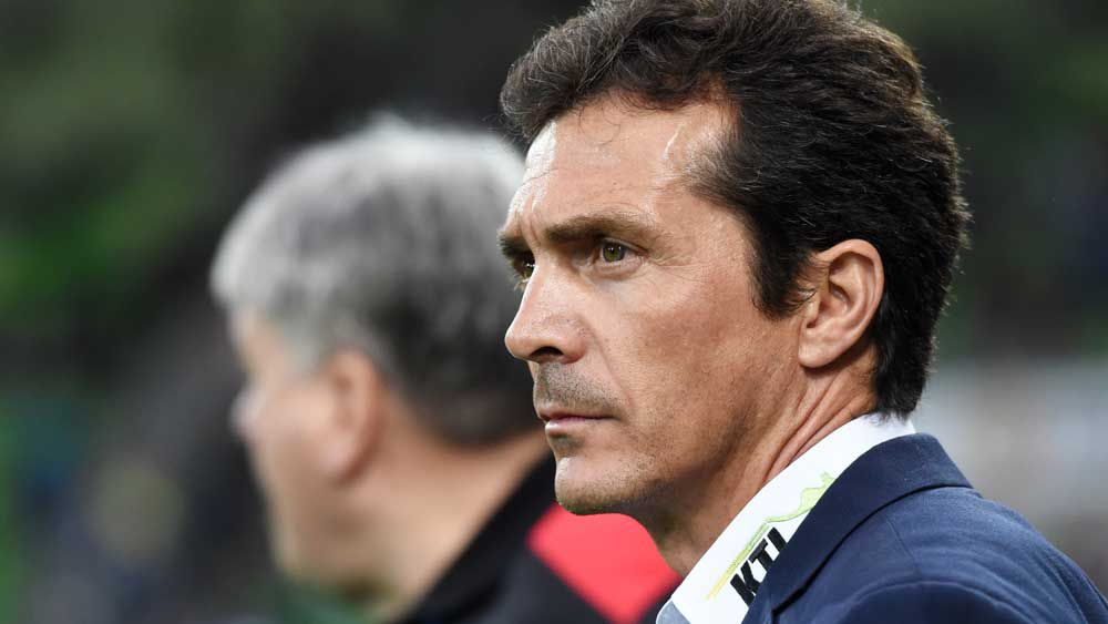 Adelaide United coach Guillermo Amor. (AAP)