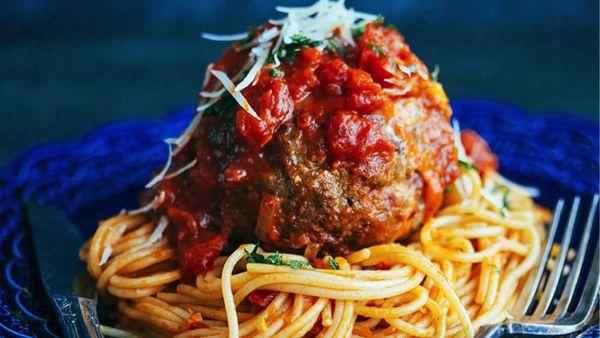 Giant meatballs