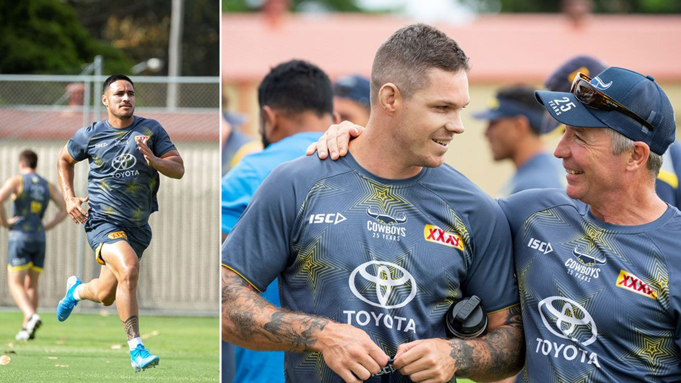 North Queensland Cowboys at training
