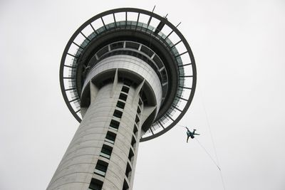 <strong>Jumping off the Sky Tower, Auckland</strong>