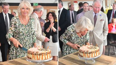 Camilla turns 71 on tour, July 2018