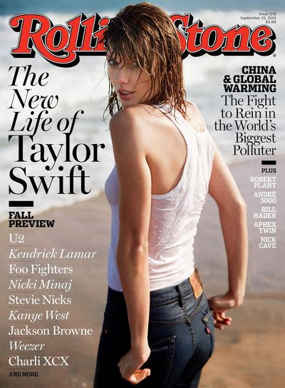 Taylor Swift for <em>Rolling Stone </em>September 2014