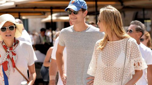 Ivanka Trump (right) on holidays in Dubrovnik with husband Jared Kushner and Rupert Murdoch's ex-wife Wendi Deng. (PA)