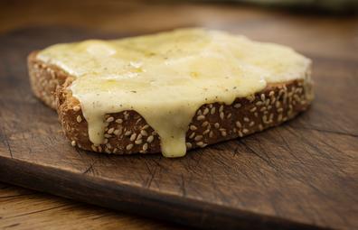 Cheese melt on toast