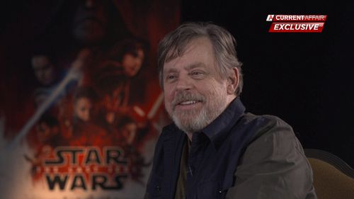 Mark Hamill opened up for a frank discussion about his late friend Carrie Fisher. (9NEWS)