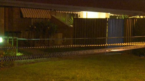 Emergency services were called to a McKean Street address about 9pm yesterday. Picture: 9NEWS