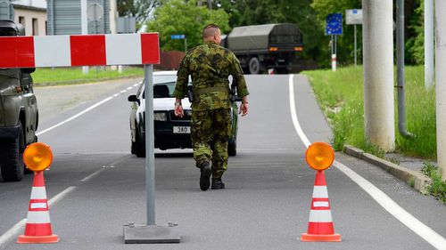Poland invades Czech Republic by accident, stops people going to church
