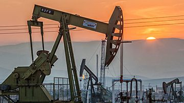 Oil pumpjacks (Getty)