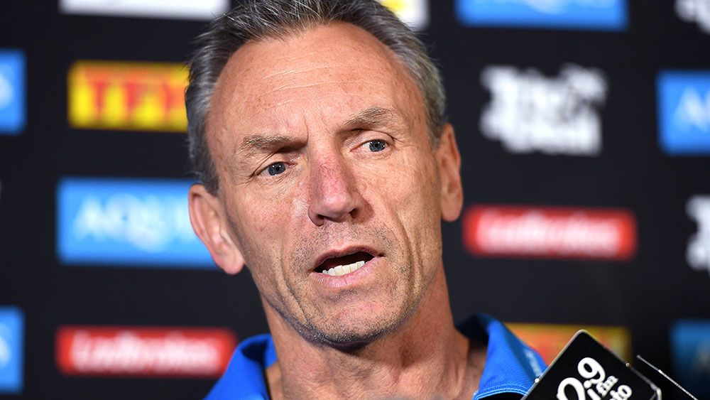 Axed Gold Coast coach Neil Henry urges fans to stand by Titans