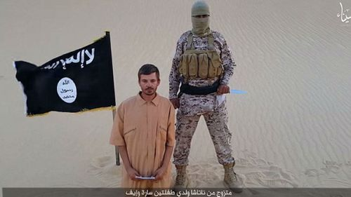 Islamic State release video threatening to behead Croatian hostage