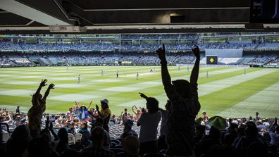 Authorities continue to investigate as the man who tested positive to COVID-19 after attending the MCG remains a mystery case.