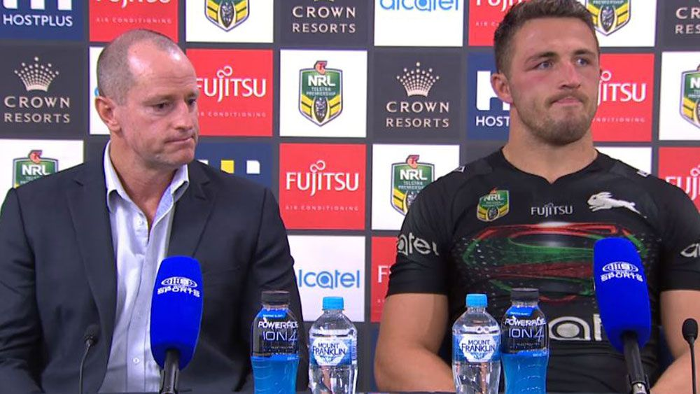 NRL 2017: South Sydney Rabbitohs coach Michael Maguire savages 'unacceptable' performance