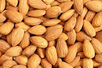Almonds: 279mg per 100g