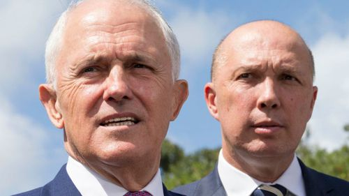 Malcolm Turnbull says Peter Dutton assured him he was eligible to sit in Parliament.