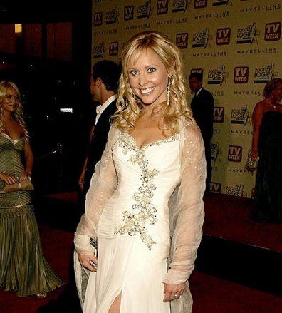 Charli Robinson Logies white dress