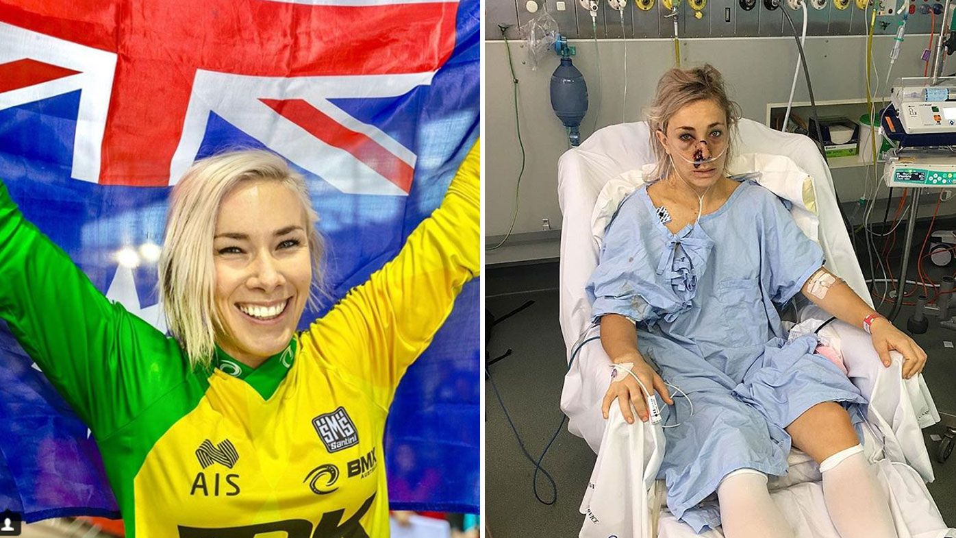 Australian BMX star Caroline Buchanan reveals details of life-threatening injuries after car crash