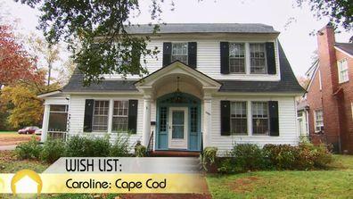 A Cape Cod home on House Hunters.