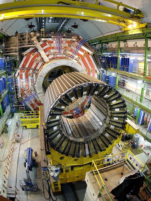 Photo of the $10 billion Large Hadron Collider at the European Organization for Nuclear Research, or CERN. (AAP)