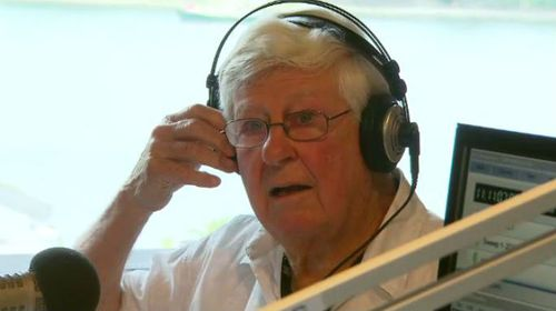 Radio legend Bob Rogers wants to stay on the airwaves until he's 100 ( A Current Affair).