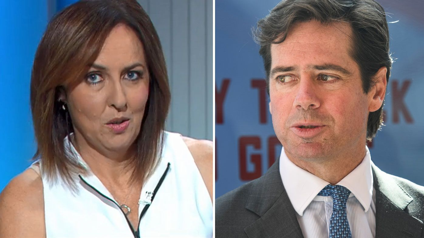 Sports Sunday's Liz Ellis slams AFL chief executive Gillon McLachlan for endorsing hush money payments