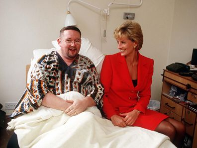 Diana with HIV/AIDS patient