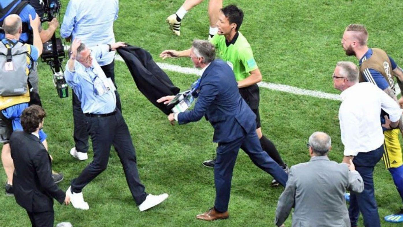 FIFA fines German backroom staff for crass goal celebration against Sweden