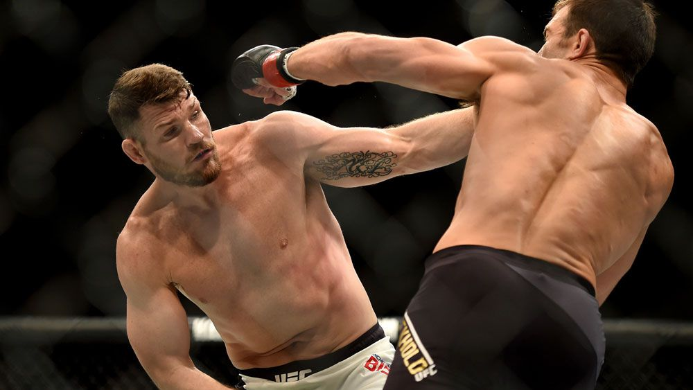 Bisping wins UFC middleweight title via KO