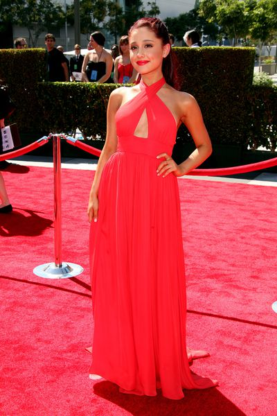 Ariana Grande at the Primetime Creative Arts Emmy Awards  in Los Angeles, September, 2012
