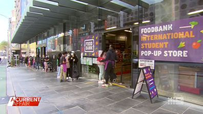International students rely on Foodbank through COVID-19 pandemic.
