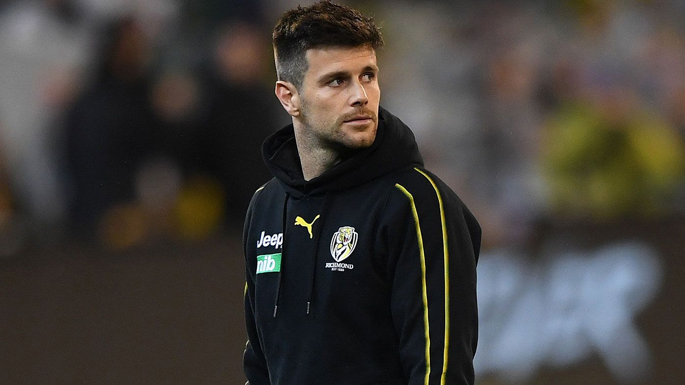 Richmond Tigers unsure on Trent Cotchin's injury layoff