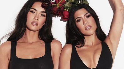 Kourtney Kardashian and Megan Foxx team up for Skims