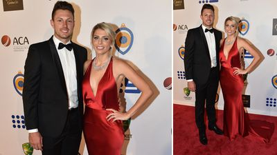 James Pattinson and Kayla Dickson. (AAP)