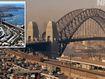 Harbour City snapshots 50 years apart