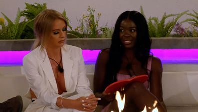 Sharon and Faye left fuming after Hugo declares he doesn't like 'fake girls'