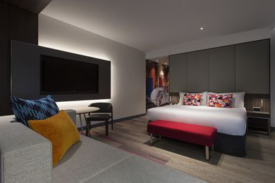 Aloft Perth, hotel, guest room