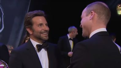 Bradley Cooper and Prince William