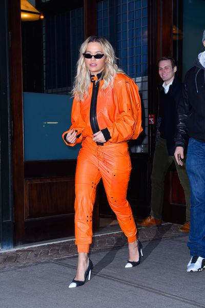 Singer Rita Ora in New York on February 1, 2018