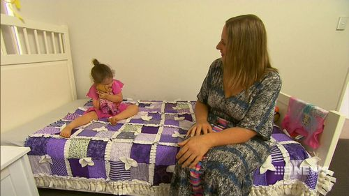 She said she's also able to spend more time with her daughter. (9NEWS)