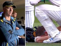 Doco reveals moment after Smith's Ashes concussion