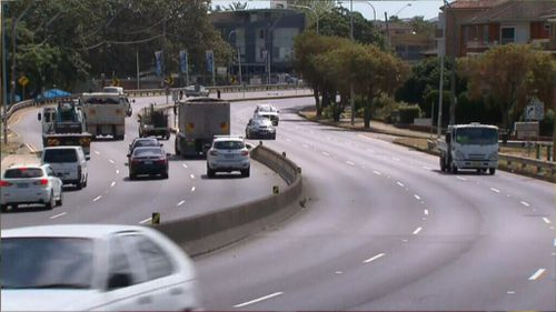 The new motorway is already courting controversy. (9NEWS)