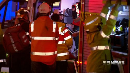 The 26-year-old suffered serious head injuries. Picture: 9NEWS