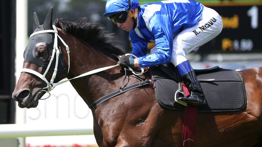 Winx turned in an impressive run in a gallop at Rosehill. (AAP)