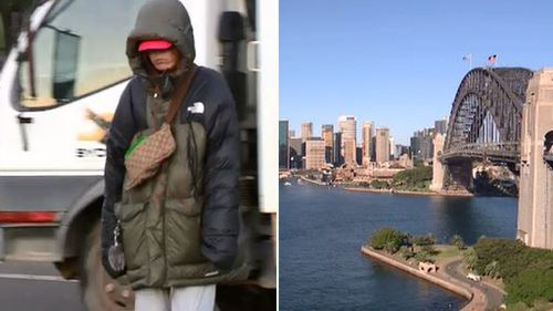 Sydney has woken up to a sunny day, but the coldest morning temperatures all year. (9NEWS)