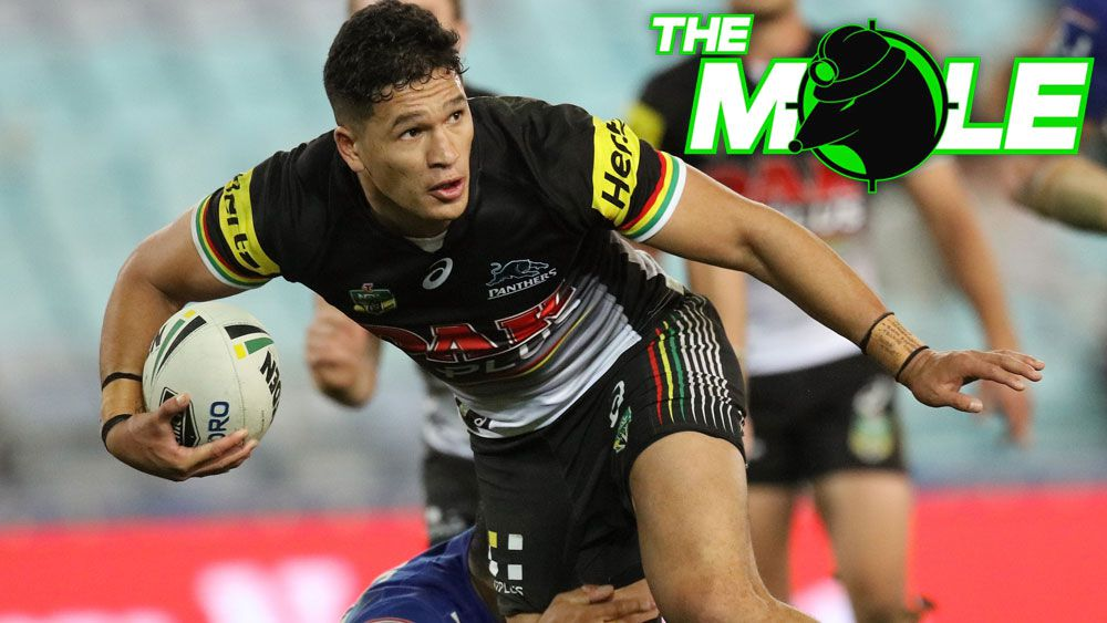 Penrith Panthers winger Dallen Watene-Zeleaniak was allegedly attacked at a junior league match. (AAP)
