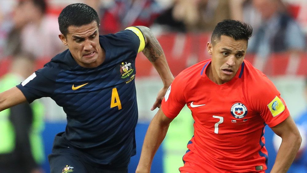 Socceroos bow out of Confederations Cup following gallant draw against Chile