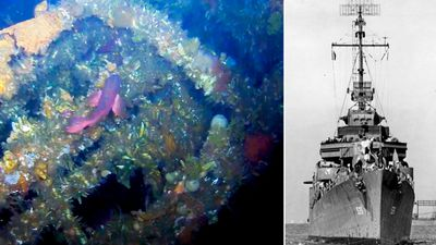Shipwreck from World War II's 'forgotten battle' found off Alaska