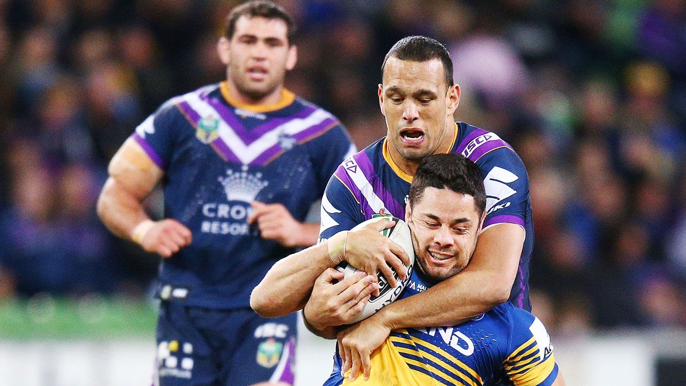 Melbourne Storm centre Will Chambers lucky to escape with three match ban for crusher tackle: Sterlo